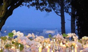 Wedding in Rome - Panorama from Monte Mario