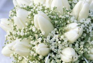 bride's  bouquet wedding day