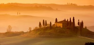 Getting married in Tuscany - hills in the countryside