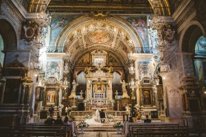 Wedding in Catholic Church - Intimate italian weddings
