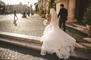 Getting married in Rome in Vatincan City